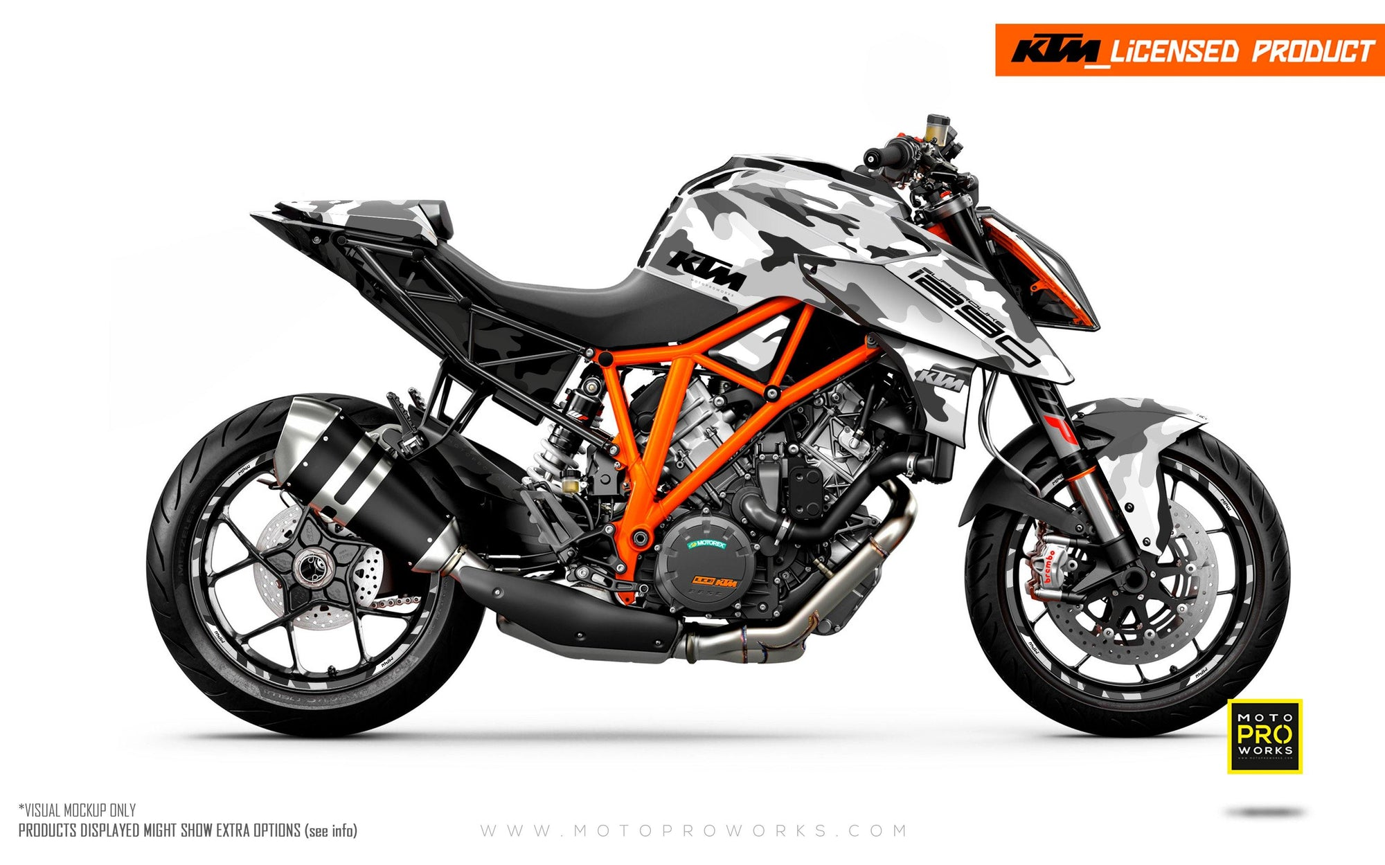 "KTM 1290 Super Duke R GRAPHIC KIT - ""Camo"" (City)"