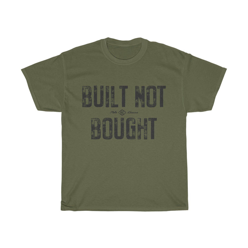 Built Not Bought, Tee |  Motoclassico