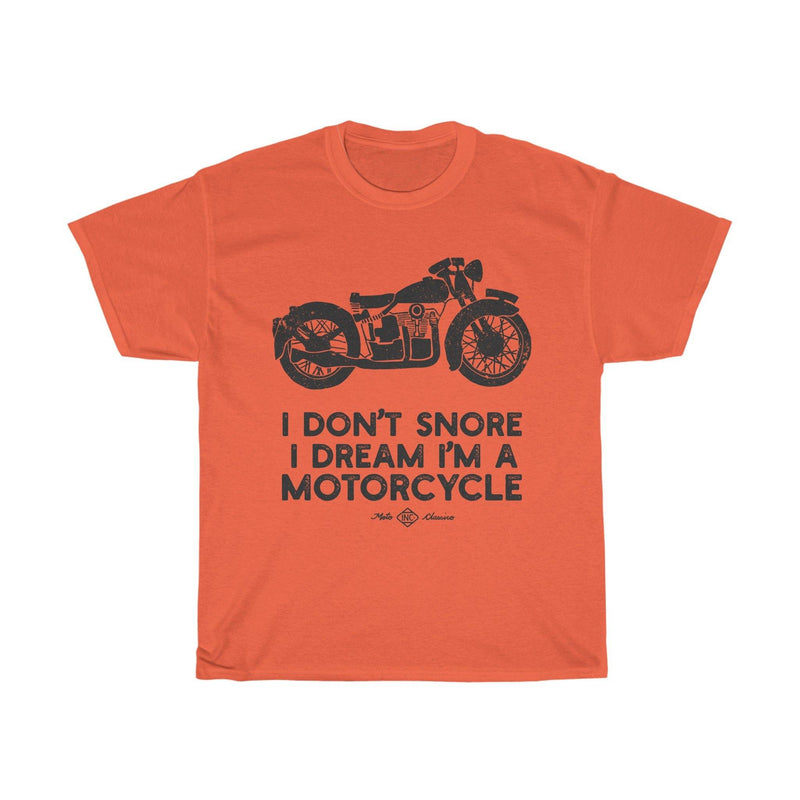 Snore Motorcycle, Tee |  Motoclassico