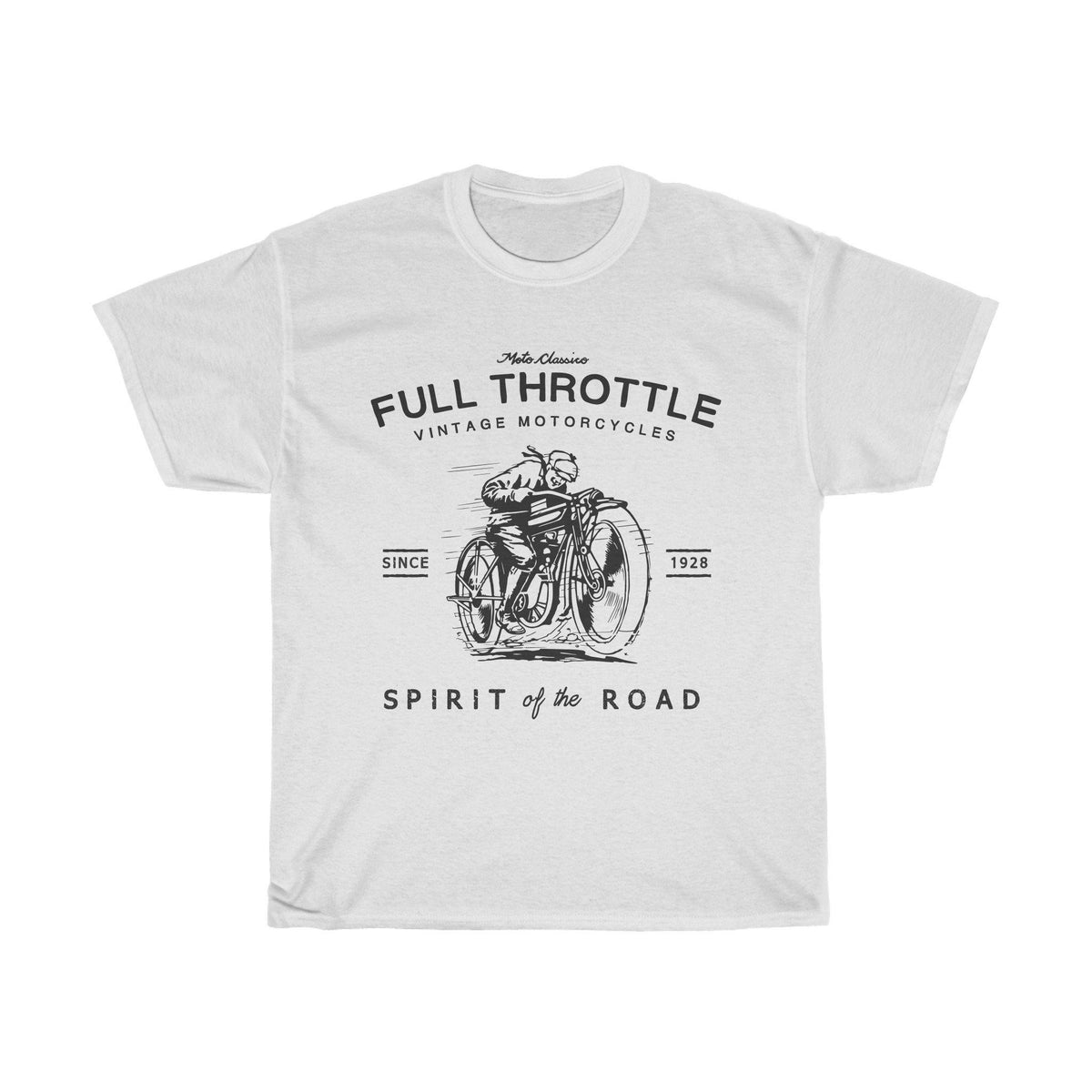 Full Throttle, Tee |  Motoclassico
