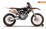 "KTM GRAPHIC KIT - ""ALITA"" (black/white)"