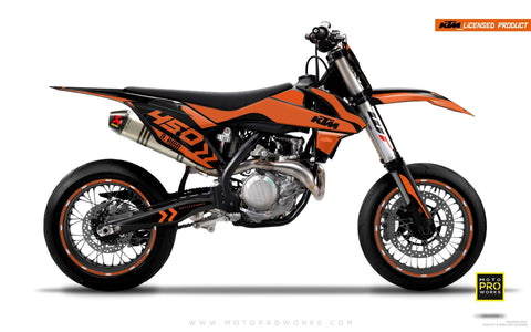 "KTM GRAPHIC KIT - ""ALITA"" (orange)"