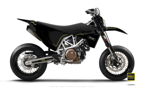 "Husqvarna GRAPHIC KIT - ""ARROW"" (Black)"