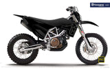 "Husqvarna GRAPHIC KIT - ""FACTOR"" (Black) - MotoProWorks 
