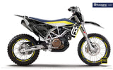 "Husqvarna GRAPHIC KIT - ""FACTOR"" (Marpatcamo/grey)"