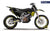 "Husqvarna GRAPHIC KIT - ""FACTOR"" (Tigercamo/dark) - MotoProWorks 