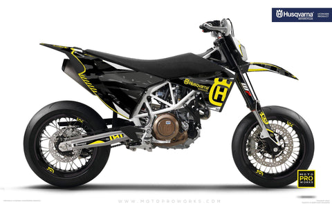 "Husqvarna GRAPHIC KIT - ""FACTOR"" (Tigercamo/dark)"
