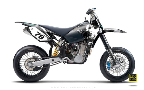 "Husaberg GRAPHIC KIT - ""MARPAT"" (black) - MotoProWorks 