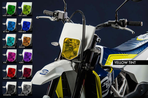 Premium Headlight tinted film (universal) - MotoProWorks | Decals and Bike Graphic kit