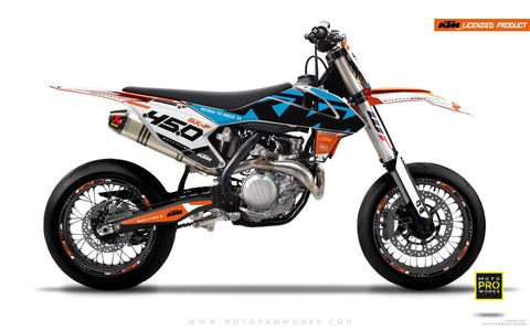 "KTM GRAPHIC KIT - ""READYONE"" (blue)"