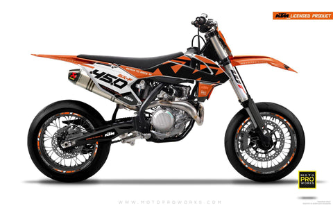 "KTM GRAPHIC KIT - ""READYONE"" (orange)"