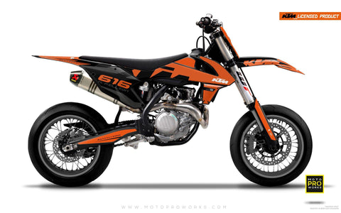 "KTM GRAPHIC KIT - ""ROC"" (orange)"