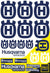 "Husqvarna Sticker Sheets - ""Large logo"" (blue) - MotoProWorks 