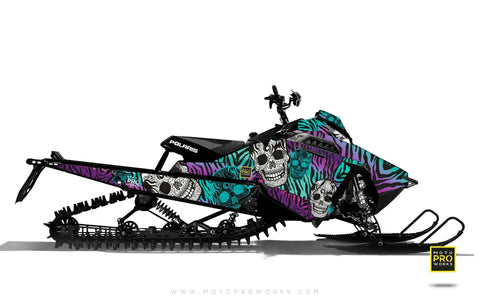 "Polaris Graphics - ""Fiesta"" (purple solid) - MotoProWorks 