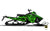 "Polaris Graphics - ""Ssskully"" (green) - MotoProWorks 