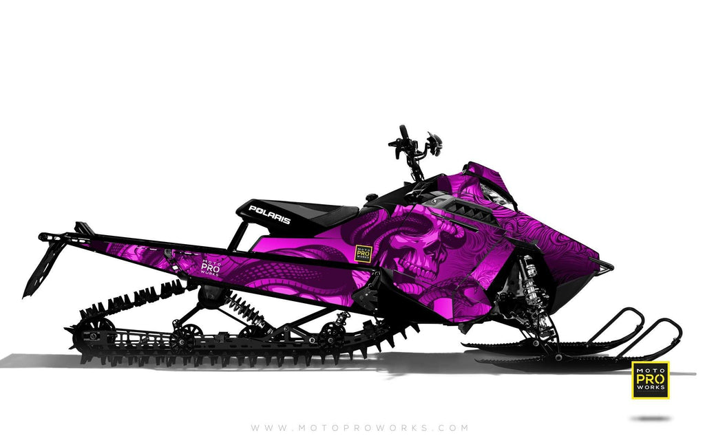 "Polaris Graphics - ""Ssskully"" (pink) - MotoProWorks 