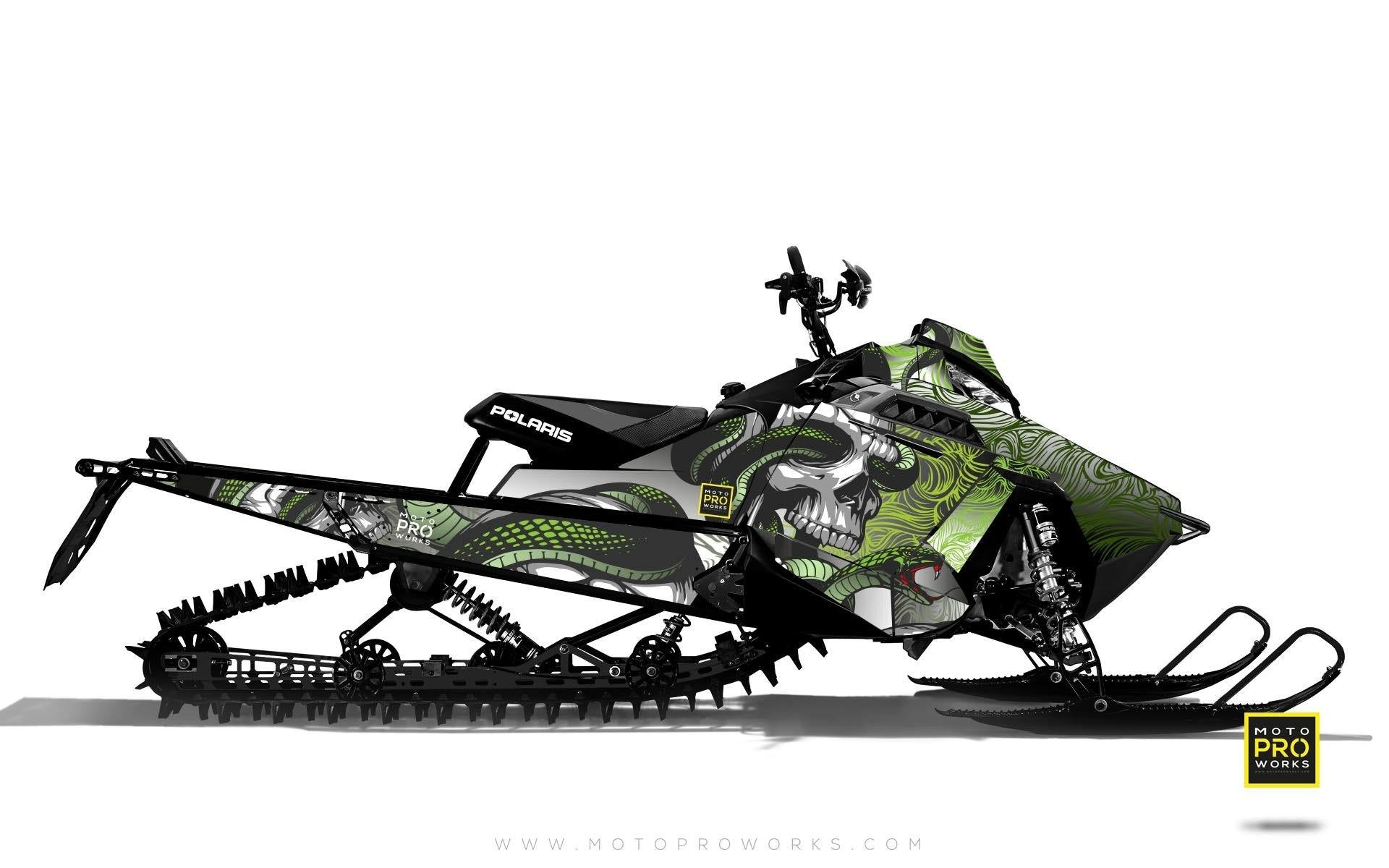 "Polaris Graphics - ""Ssskully"" (venom) - MotoProWorks 