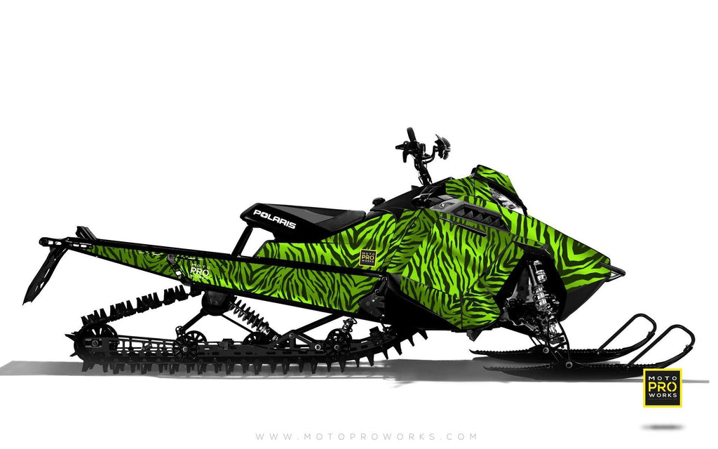 "Polaris Graphics - ""Stripey"" (green) - MotoProWorks 