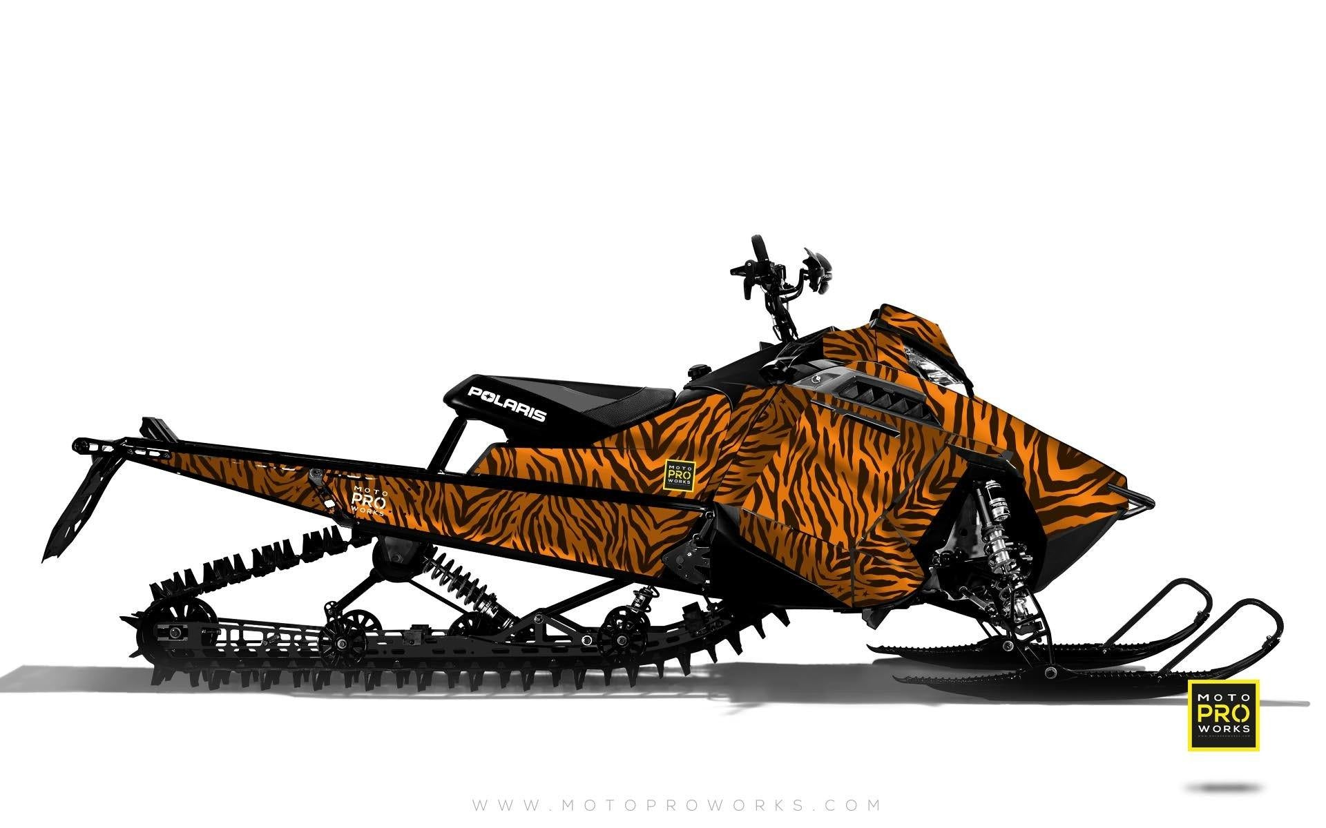 "Polaris Graphics - ""Stripey"" (orange) - MotoProWorks 