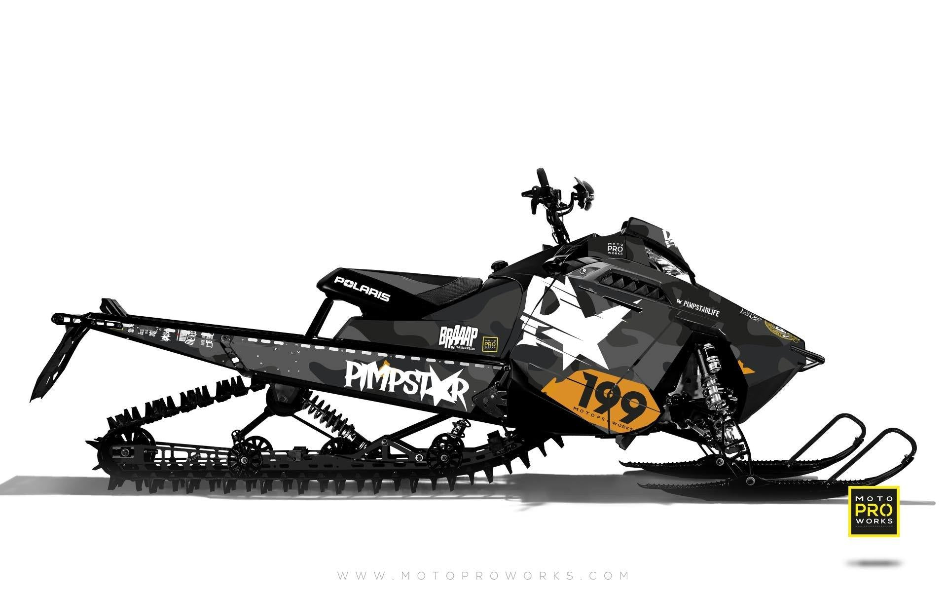 "Polaris Graphics - ""Wildcamo"" (black) - MotoProWorks 