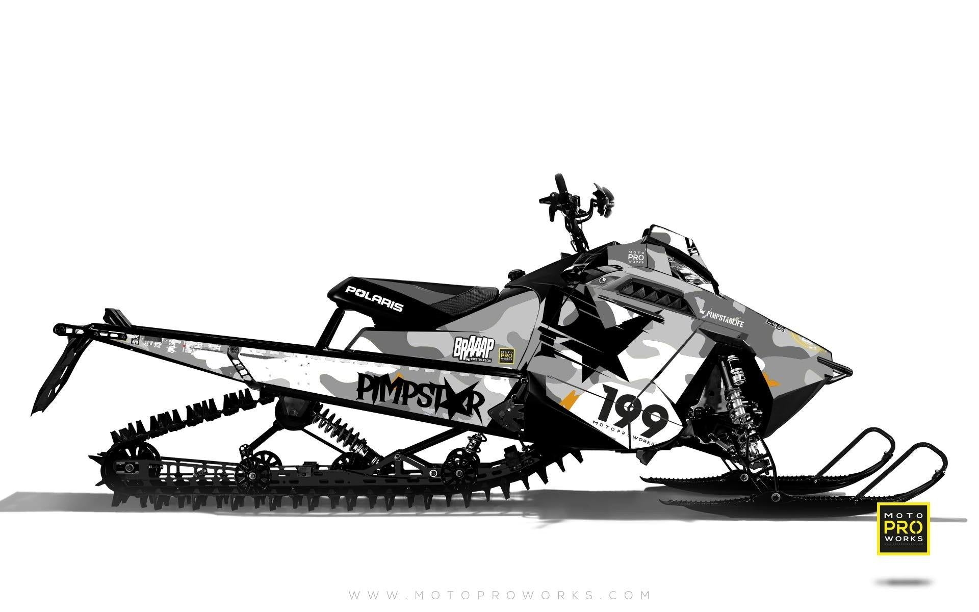 "Polaris Graphics - ""Wildcamo"" (white) - MotoProWorks 