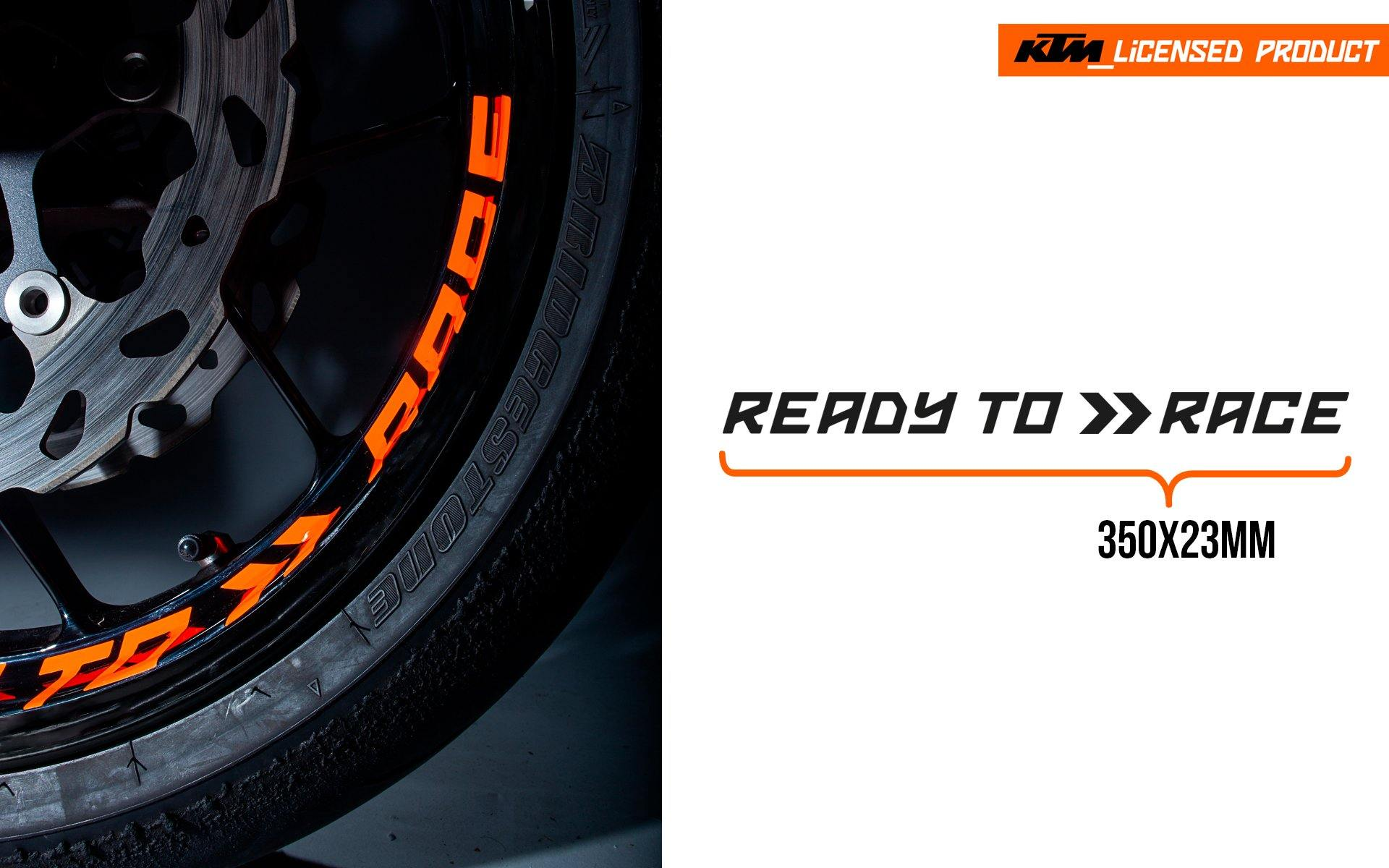 "KTM Decals - ""Ready To Race"" - MotoProWorks 