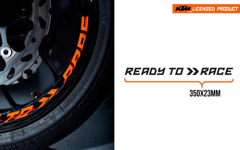 "KTM Decals - ""Ready To Race"""
