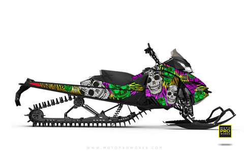 "Ski-Doo Graphics - ""Fiesta"" (zink) - MotoProWorks 