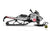 "Ski-Doo Graphics - ""Tactical"" (white) - MotoProWorks 