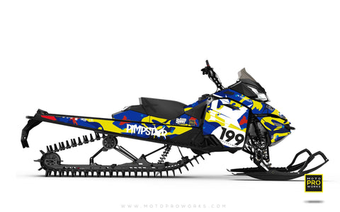 "Ski-Doo Graphics - ""Wildcamo"" (jimmie) - MotoProWorks 