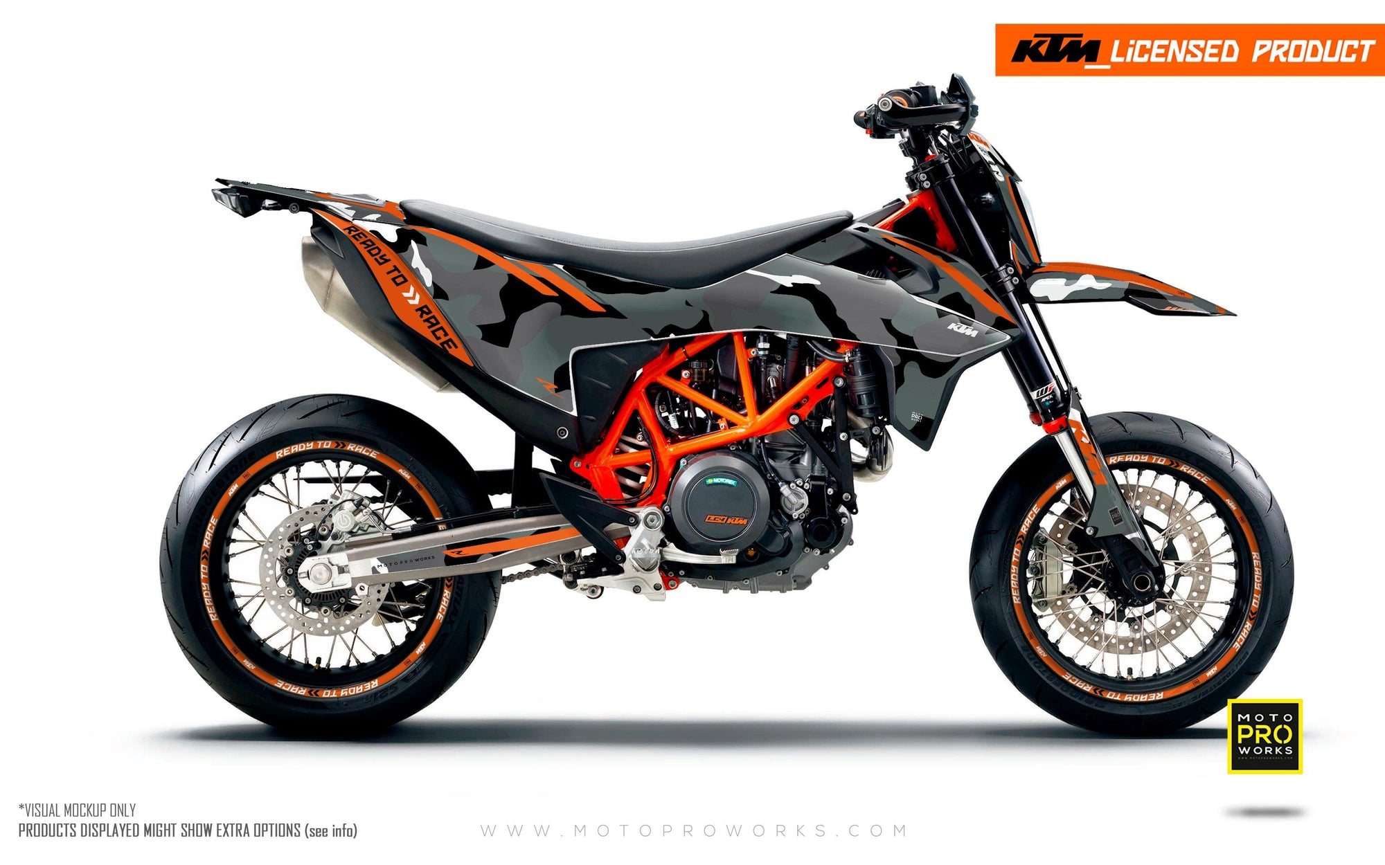 "KTM GRAPHIC KIT - ""Trac"" (camo)"