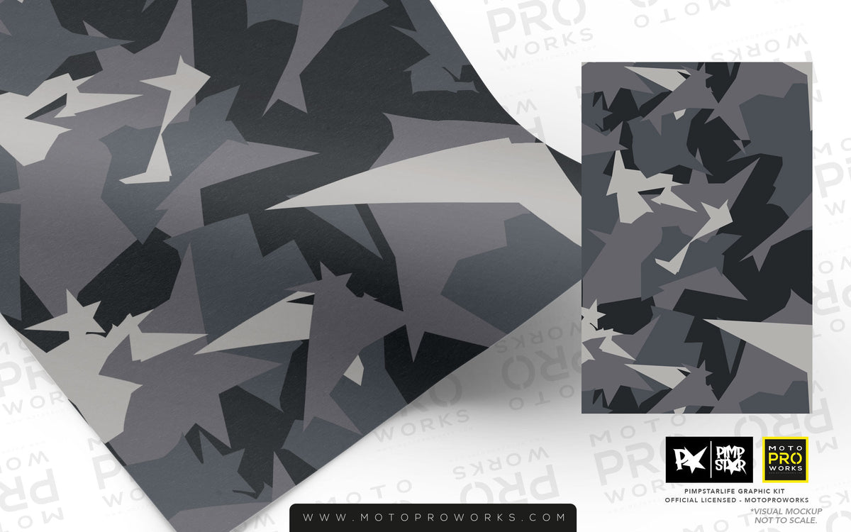 Wrap foil - M90CAMO (urban) - MotoProWorks | Decals and Bike Graphic kit