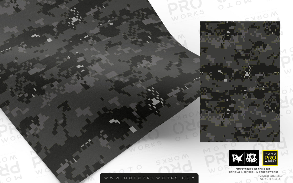 Wrap foil - Marpat (dark) - MotoProWorks | Decals and Bike Graphic kit