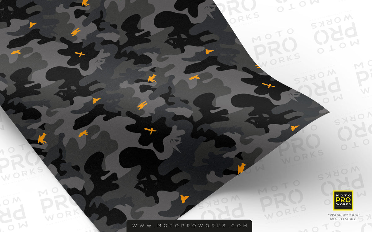 Wrap foil - Wildcamo (Dark) - MotoProWorks | Decals and Bike Graphic kit