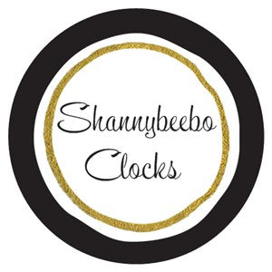 Wall Clocks from Shannybeebo Original Paper Bead Clocks Zero Waste Home
