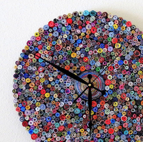 Decorative Wall Clock, Zero Waste Poducts