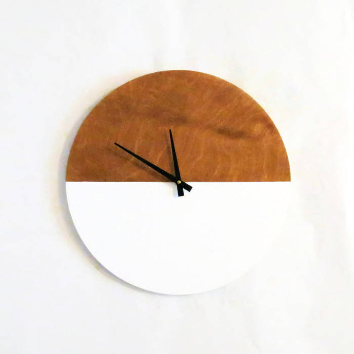 Wall Clock,  Modern Clock,  Home Decor, Home and Living, Decor and Housewares