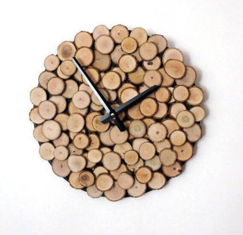 Large Clock, Eco-Friendly Home Decor, Reclaimed Wood Art, Decor and Housewares