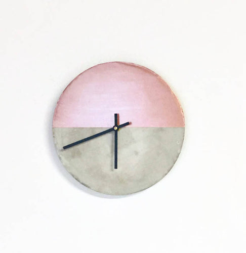 Cement Wall Clock, Home Decor