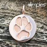 Paw Print Jewelry by DimplesCharms.com