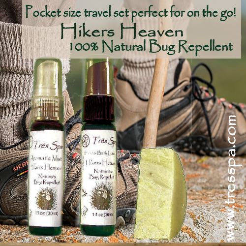 Très Spa Gift Set Hikers Heaven Pocket Set