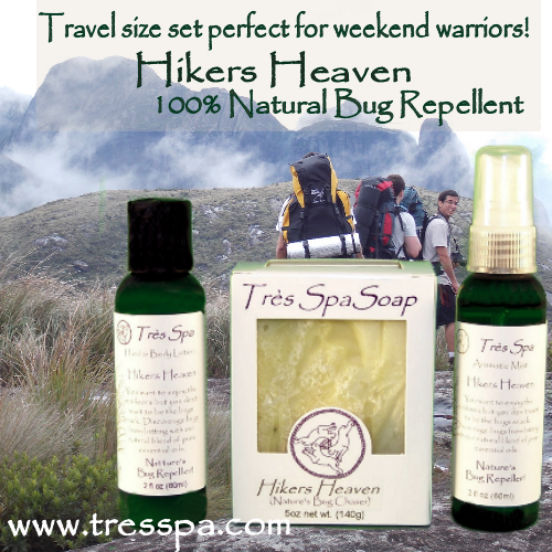 Très Spa Gift Set Hikers Heaven Traveler