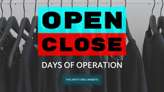 opening and closing days banner for 2019 blog excerpt