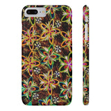 Funky Daisies on Slim iPhone X+ Phone Cases