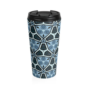 Blue Specs Travel Mug