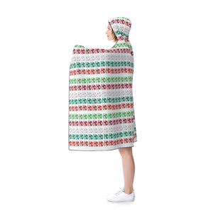 Ho Ho Ho's Hooded Blanket (Adult Size)