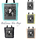 Brand image of the Bellisima Tote in all colors.