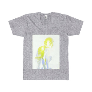 Men's Eli American Apparel V-neck T-shirt