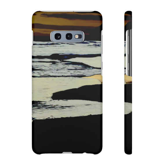 Dusk by the Sea Samsung Galaxy S10 Series Snap Cases