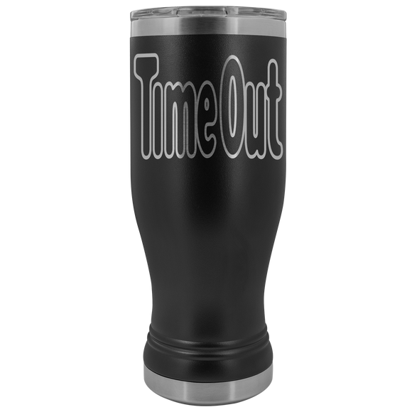 TimeOut Logo 20 ounce BOHO Stainless Steel Tumbler (12 colors)
